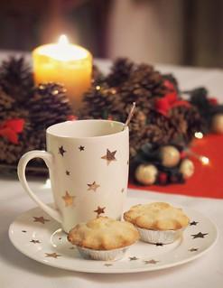 Christmas tea and apple pies 🎄🍵🍏