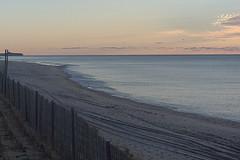 PC212831 (Paul Henegan) Tags: 32crop atlanticocean montaukny yule beach bluff clouds dawn fence grasses morninglight sky