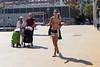 (AmirsCamera) Tags: barcelona catalan city spain woman lady girl fashion style bikini women funny fun looks walking lifestyle street streetphotography candid colour color olympus omdem1 omd em1 september 2017