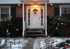 Merry Christmas From Our House (RockN) Tags: christmas merrychristmastoall december2017 worcester massachusetts newengland