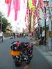 Kimono headstand (Stop carbon pollution) Tags: japan 日本 honshuu 本州 touhoku 東北 iwateken 岩手県 hotd headstand