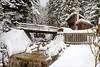Winteridyll (Heinrich Plum) Tags: heinrichplum plum fuji xf1855mm winter winterlandschaft alpen alps skitour skitouring bach hütte creek bridge brücke hut bavaria bayern snow snowcoveredtrees snowymountain schnee bäume