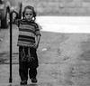 The Wanderer (ybiberman) Tags: israel jerusalem meahshearim boy cane tzitzit payot portrait candid streetphotography bw