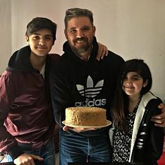 Mi feliz cumpleaños. My happy birthday. (Orcoo) Tags: birthday cumpleaños feliz happy pastel cake