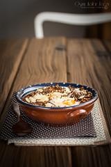 kasza-z-grzybami-i-jajkiem-5 (Malgosia Osmykolorteczy.pl) Tags: food foodie foodphoto foodstyling fotografia jedzenie kuchnia culinary kulinerne buckweat old vintage egg eggs mushroom wood table