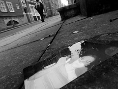 wasted memories (vfrgk) Tags: photography wasted street man people silhouette humanfigures streetlines perspective lowpov reflections moody streetphotography streetscene streetlife urbanphotography urbanfragment urbanlife waste photo monochrome melancholic blackandwhite bnw bw