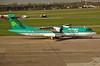 A.T.R. 72-600 EI-FAT Aer Lingus Commuter (EI-DTG) Tags: planespotting aircraftspotting dublinairport dub eidw aerlingusregional aerlingus stobart atr turboprop atr72 eifat 20apr2015