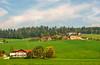 Rolling Hills (fotofrysk) Tags: homes farms green woods forests village austriancountrysideviennasalzburgtrain viewfromthetrain railjet easterneuropetrip vienna austria wien oesterreich sigma1750mmf28exdcoxhsm nikond7100 201709275776