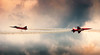 50% chance, 50% faith. (catrall) Tags: nikon d90 2013 air airshow planes plane maneuver clouds nikkor 18105 blue