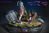 DSC08273Logo (customresincollectors) Tags: goku meets bulma diorama dragonball dragonballz statue