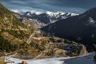 Andorra mountain landscape: Canillo, Vall d'Orient, Andorra