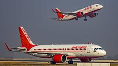 Air India Airbus A320NEO VT-CID Bangalore (BLR/VOBL) (Aiel) Tags: airindia airbus a320 a320neo vtcid vtexg bangalore bengaluru canon60d tamron70300vc