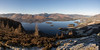 Endless Possibilities (johnkaysleftleg) Tags: derwentwater wallacrag lakedistrict lakes fells wainwrights centralfells lake frost winter wintersun catbells causeypike grisedalepike canon760d sigmaaf1770mmf2845dcmacro stichedpanorama