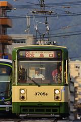 DSC2805 (__nEUROn__) Tags: railway train hiroshima streetcar emu 広電 広島 路面電車