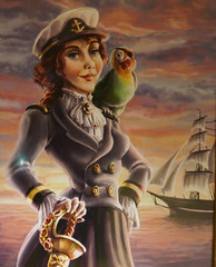 """Captain Mary Occeaneer and Salty: Disney Wonder Oceaneer Lab • <a style=""""font-size:0.8em;"""" href=""""http://www.flickr.com/photos/28558260@N04/38977559022/"""" target=""""_blank"""">View on Flickr</a>"""
