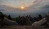 Lempuyang temple (alain01789) Tags: lempuyang balinese temple crepuscule sunset agung bali indonesia
