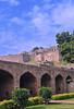 Golkonda fort (bhanuprakash.in) Tags: golkonda fort hyderabad telangana tourism ancient historical site qutub shahi kingdom lookingup garden roadtrip 2017 travel bug nikon travelphotography