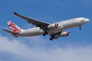 VH-XFD Virgin Australia Airbus A330-243