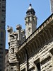 Chicago, Water Tower, Detail (Mary Warren 9.6+ Million Views) Tags: chicago watertower urban architecture building stone castle turrets