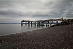 The pier series, vol. II: cloudy day (flaminia cuffari) Tags: norway sea water exposure long 1018mm wideangle ndfilter summer eos80d canon