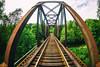 Coming Through (Thomas Hawk) Tags: america glendale oregon southernoregon usa unitedstates unitedstatesofamerica bridge trainbridge traintracks fav10 fav25 fav50