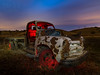 '54 Chevy Truck II (mikeSF_) Tags: car auto automobile truck dually flat bed flatbed 1954 54 chevy chevrolet antique abandoned rust rusty farm rural vasco road brentwood antioch byron marsh night long exposure pentax 645 645z dfa25 25mm