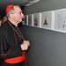 Il cardinale Pietro Parolin a Palidoro per la mostra