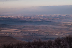 Dawn painting (Kalmár_Zsuzsanna) Tags: landscape mátra kékestető winter mist dawn nature snow morning