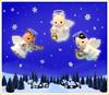 Sylvanian Families - Christmas Angels (Sylvanako) Tags: christmas angels angel carols sylvanian music card