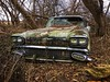 out of production....(truth or consequences house) (Aces & Eights Photography) Tags: abandoned abandonment decay ruraldecay oldcar abandonedcar pontiac