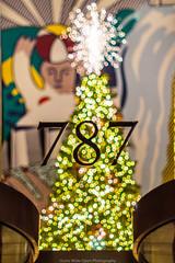 Christmas in NYC (jomak14) Tags: 2017 christmasinnyc fotodioxpropktom43adapter gf2 microfourthirds panasonic pentax50mmf12 people smcpk50mmf12 christmastree bokeh