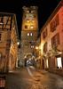 Tour des bouchers - Ribeauvillé (hervétherry) Tags: france grandest alsace hautrhin ribeauvillé canon eos 7d 1022 nuit illumination noel