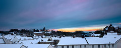 Coleford Town, Rooftops on a Snowy Morning (glenmcdonald81) Tags: