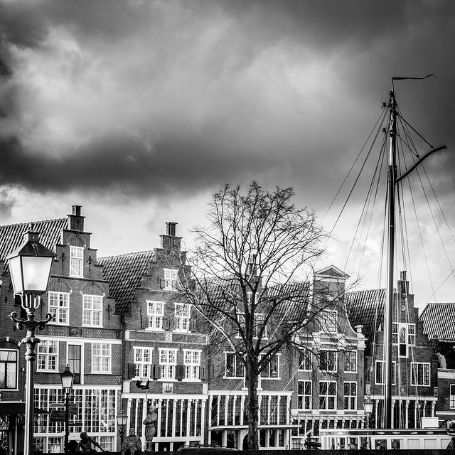 Old houses in Hoorn