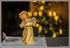 Die Weihnachtszeit neigt sich dem Ende (günter mengedoth) Tags: mccarlzeissjenapancolar50mmf18 engel taschenuhr weihnachten weihnachtsbaum bokehlicious bkhq noten uhr kerzen manuell historisch beyondbokeh