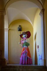 Day of the Dead art (ep_jhu) Tags: oldsanjuan latinamerica x100f dayofthedead skeleton dress puertorico pr fujifilm cultura diadelosmuertos skull cultural museum america fuji museo abanico sanjuan fan osj viejosanjuan