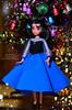 Melody doll (3) (Lindi Dragon) Tags: doll disney disneyprincess disneystore ariel eric mermaid little melody newyear handmade dress blue