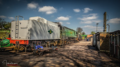 Ropley Station Yard....... (inkslinger15) Tags: green hampshire station yard steam railway tracks