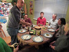 Holiday dinner with friends.. (iwona_kellie) Tags: dinner experiment glutenfree pickupsticks games food friends kitsilano vancouver december 2017 holidays christmas boxingday