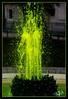 Fontaine fluo / Fluorescent fountain - Grand Palais - Paris VIII (christian_lemale) Tags: paris france nikon d7100 fontaine fountain vert green grand palais