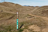 At the junction (LeftCoastKenny) Tags: edlevincountypark hills sign antennas trail grass