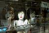 Desire (toletoletole (www.levold.de/photosphere)) Tags: fujix100f posen poznan street perücken wigsshop köpfe dolls laden shopwindow puppen schaufenster reflection heads spiegelung