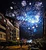 Amsterdam. (alamsterdam) Tags: amsterdam fireworks happy2018 meander kostverlorenvaart bikes 2400hour