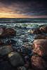 Barrenness grinds, beauty strokes (Aissi) Tags: select kokkola ohtakari finland landscape sunset sundown beautiful inexplore explore nature seascape