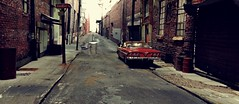 Hawks Hall Alley 1 (gpholtz) Tags: diorama miniatures 118 diecast impala chevrolet 1961
