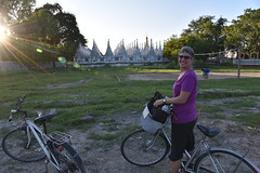 DSC_6053 (Kent MacElwee) Tags: burma myanmar yangon rangoon mandalay asia sea southeastasia bike bicycle kuthodawpagoda pagoda buddhist buddhism buddhistteachings worldslongestbook worldslargestbook