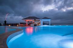 Bye bye 2017 (Pierre de Champs) Tags: toubana stanne guadeloupe caribbean fwi tropical pool clouds blue nikonphotography nikon d750 antilles outremer