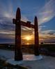 2018 (lizcaldwell72) Tags: hawkesbay sunrise napier water sky awatoto celestialcompass ateaarangi newzealand light