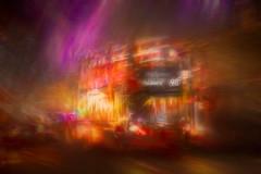 the 98 for Holborn (RCARCARCA) Tags: lights 70200l 2017 london christmas selfridges shoppers bus cars 5diii canon 98 traffic holborn