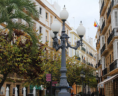 Cadix (hans pohl) Tags: espagne andalousie cadix villes cities streets rues bâtiments buildings maisons houses lampadaires architecture